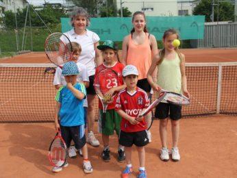 Tennislehrer Gabi Angst