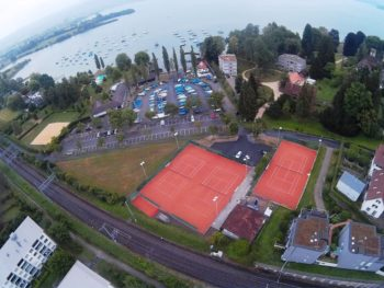 Tennis Club Cham Anlage und Clubhaus